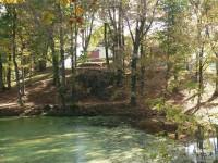 Vysoký Hrádek, rybník v parku