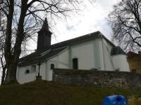 Dlouhá Ves, kostel sv.Filipa a Jakuba