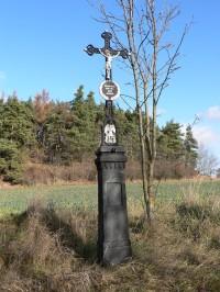 Křížek při cestě do Malé Chmelné
