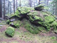 Sedlo, jedna ze skal