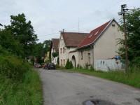 Janovičky, cesta obcí