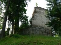 Hrad Pajrek, stěna paláce