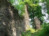 Pajrek, palác a zbytek věže