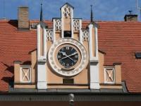 Rabí, radniční hodiny