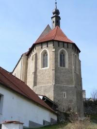 Rabí, gotický kostel Nejsvětější Trojice