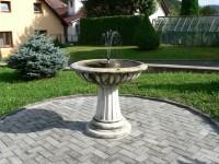 Podmokly, malá fontána