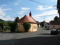 Podmokly, zadní strana kaple