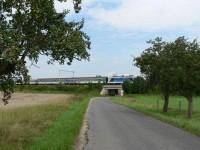 Křížení s tratí z Plzně do Č. Budějovic