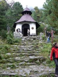 Symbolický cintorín ve Vysokých Tatrách.