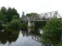 Železniční most přes Otavu