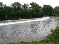 Otava, jez na řece