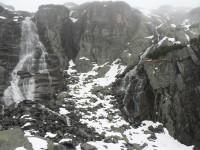 Vodopád Skok ve Vysokých Tatrách.