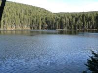 Šumavská jezera – Černé a Čertovo.