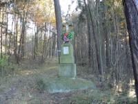 Křížek v Praseckém lese