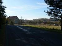 Pačejov, dům na okraji obce