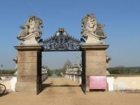 Zámek Milotice, vstupní brána