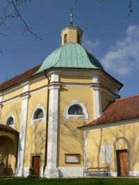 Kaple sv. Antonína, kopule