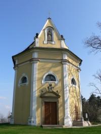 Kaple sv. Antonína, průčelí