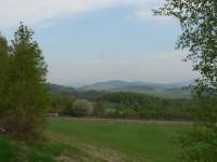 Pohled od Velkého Radkova k severu