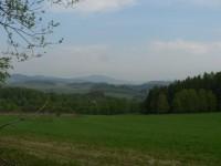 Pohled od Velkého Radkova ke Svatoboru