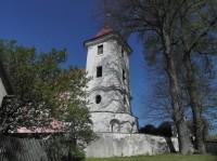 Těchonice, kostelní věž