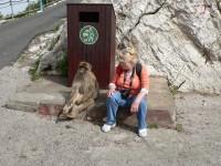Jeden den v Gibraltaru.