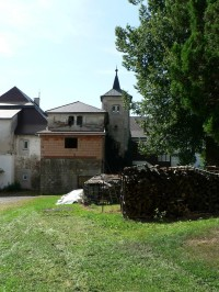 Malonice, pohled na zámek od severu