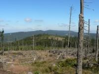 Pohled z Polomu k severu