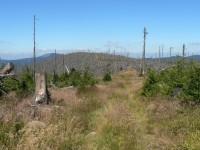 Výstup na Polom – šumavská hřebenovka.
