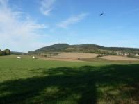 Borek, vrch nad Velharticemi.