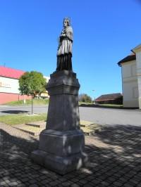 Plánice, socha sv. Jana z Nepomuku