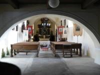 Nicov, vnitřek kostela sv. Martina