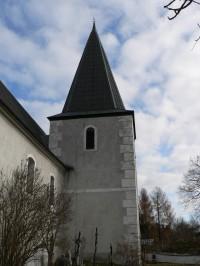 Nicov, věž kostela sv. Martina