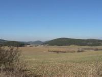 Pohled od Kadešic k severu