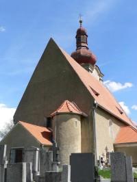 Týnec, kostel Nanebevzetí Panny Marie