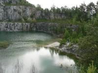 Líšná, jižní strana jezera