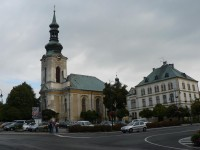 Varnsdorf, barokní kostel sv. Petra a Pavla