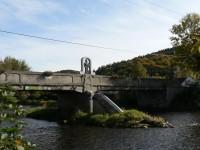 Čepice, starý most se sochou sv. Jana z Nepomuku