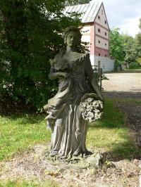Liběchov, socha Jara