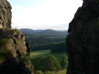 Tolštejn, pohled k jihu