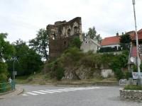 Říčany, zbytek hradního paláce