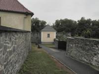 Kadaň, domek na hradbách
