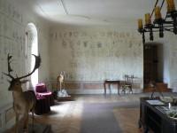 Roštejn, botanický sál