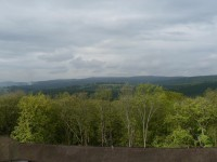 Roštejn, pohled z věže hradu