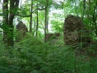 Zřícenina hradu Pušperka