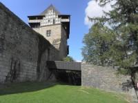 Lipnice nad Sázavou, vstup do hradu