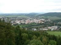 Pohled z Pastýřky na město