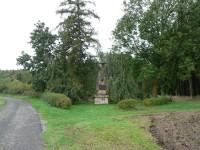 Celkový pohled na Napoleonský památník u Jevíčka