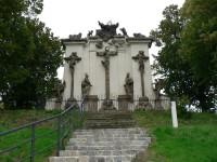 Kalvárie, pohled ze schodiště