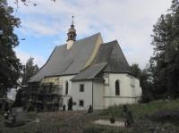 Křížový vrch, kostel Povýšení sv. Kříže